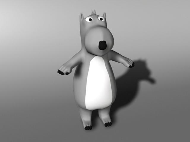 Backkom Bear 3d model