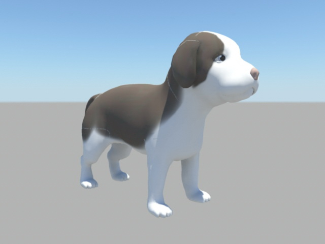 Cute Beagle Puppy 3d Model Maya Files Free Download Modeling 44134
