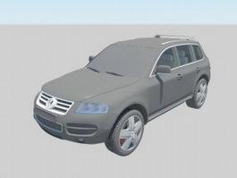 VW Touareg 3d model