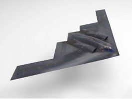 B-2 Spirit Stealth Bomber 3d model