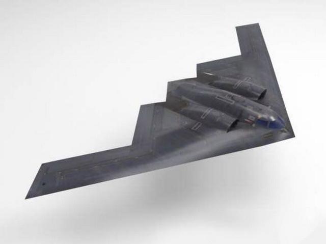 B-2 Spirit Stealth Bomber 3d model