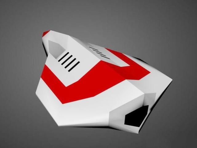 Future Airplane 3d model Autodesk FBX files free download