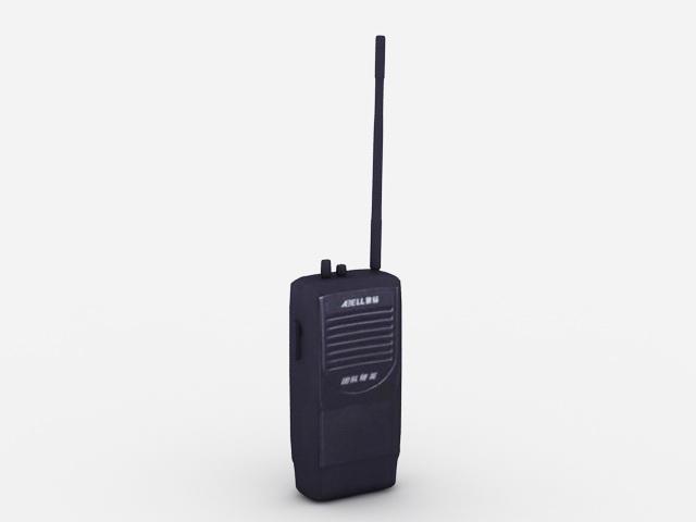 Walkie-talkie 3d model