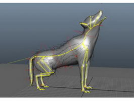 Black Wolf Rig 3d preview