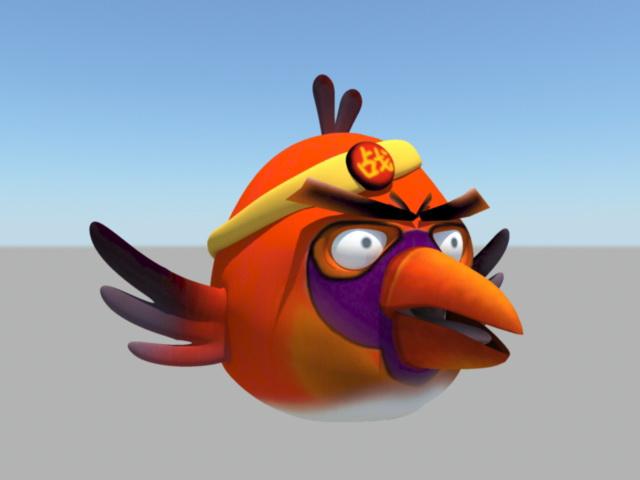 Angry Bird 3d model