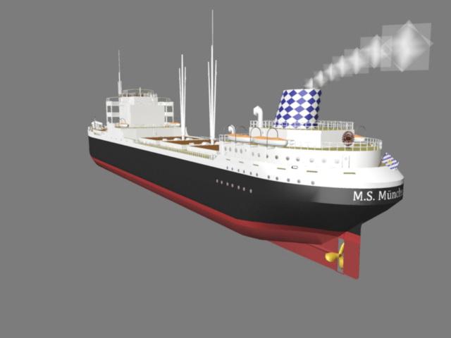 MS München 3d model