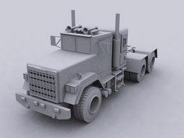 Industrial Truck 3d model