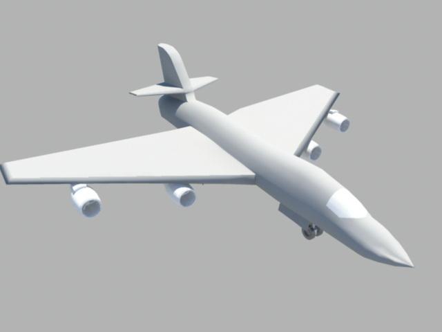 Bomber Aircraft 3d model