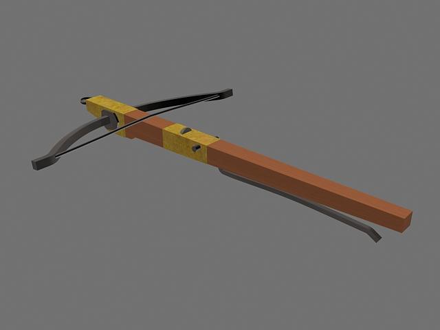 Ancient Crossbow 3d model