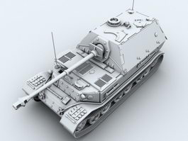 Ferdinand  Tank Hunter 3d model