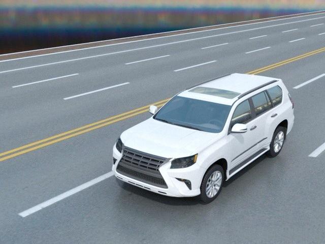Lexus SUV White 3d model