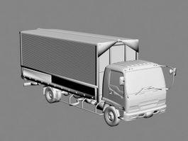Isuzu Truck 3d model