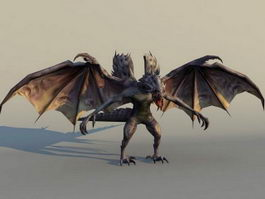 Cool Dragon Monster 3d model
