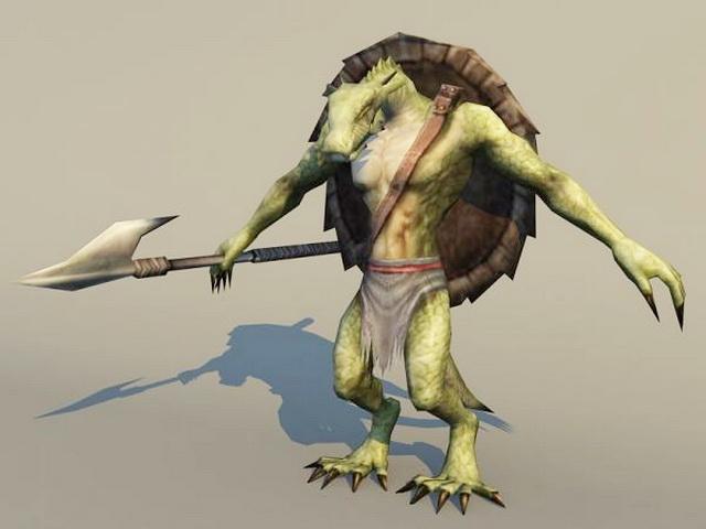 Dragon Warrior 3d model