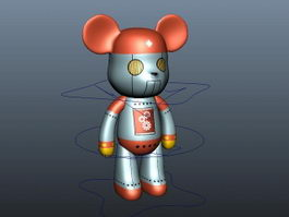 Gloomy Bear Rig 3d model