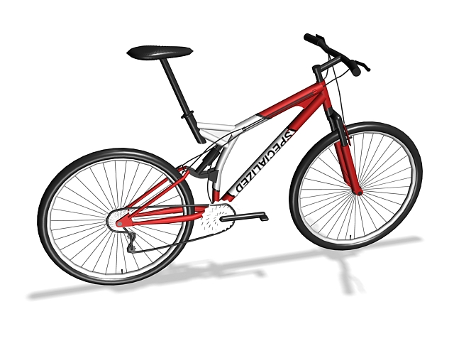 3dSkyHost: Specialized Mountain Bike 3D Model