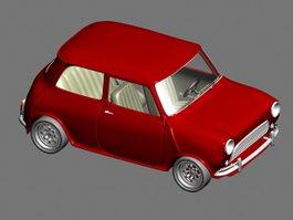 Micro Mini Car 3d model