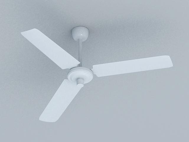 Modern Ceiling Fan 3d model
