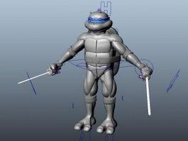 Ninja Turtle Rig 3d model