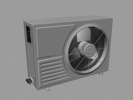 Air conditioner 3d model free download - cadnav com