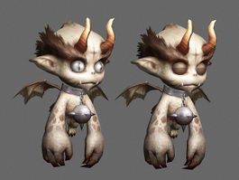 Little Evil Monsters 3d model