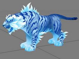 Blue Tiger 3d model
