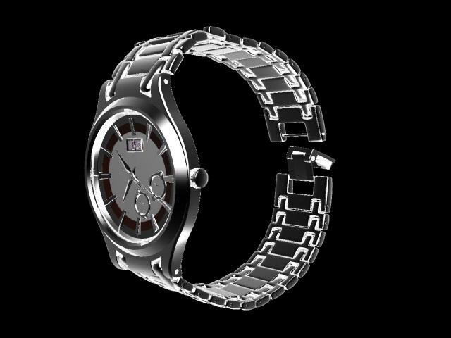 Ernest Borel Watch 3d model