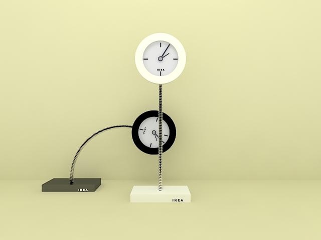 IKEA Clocks 3d model