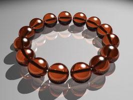 Gemstone Bracelet 3d model