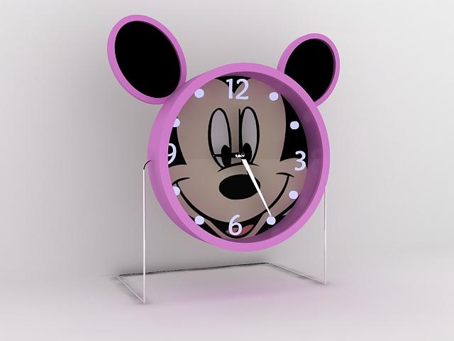 Mickey Mouse Alarm Clock 3d model