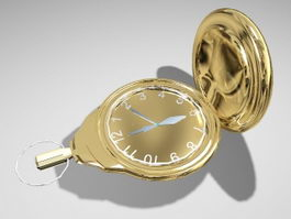 Pendant Watch 3d preview