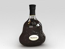 Hennessy XO 3d model