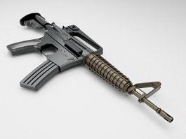 M733 Commando 3d model