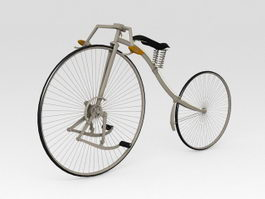 Facile Bicycle 3d model