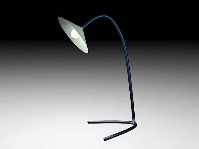 Industrial Table Lamp 3d model