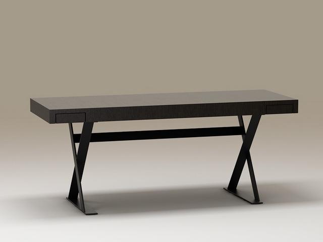 Modern Home Office Desk 3d model