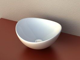 Countertop Basin Sink 3d model