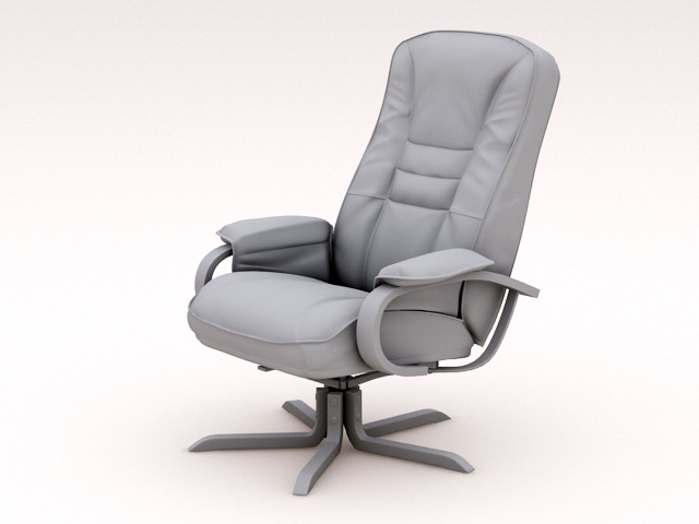 Luxury Executive Chair 3d model