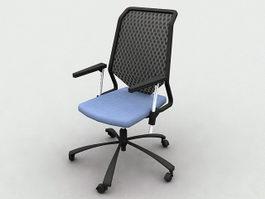 Ergonomic Mesh Office Chairs 3d model