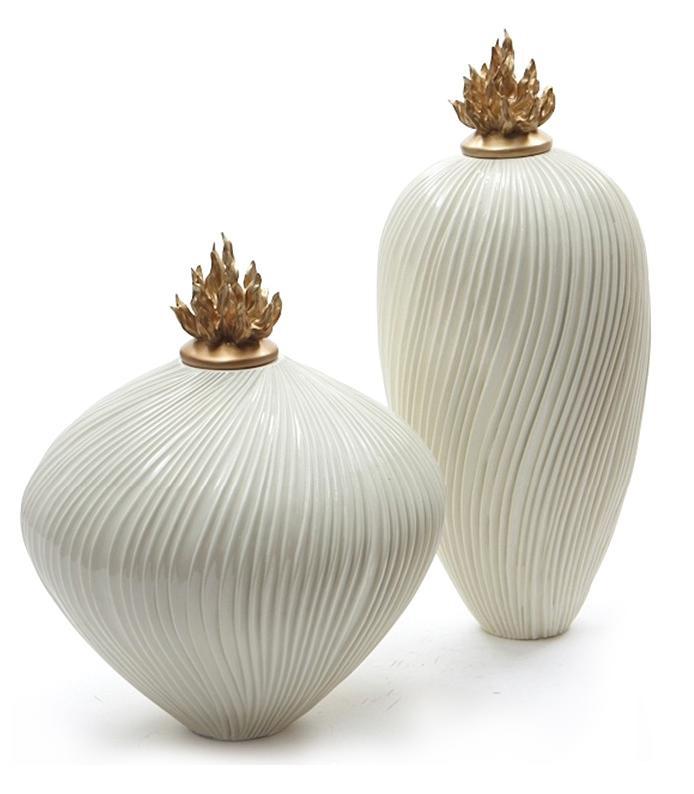 Thread Ceramic Vases 3d model