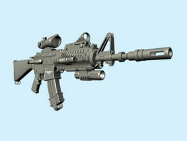 M4 Carbine 3d model