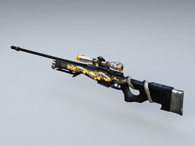 AWM Infernal Dragon 3d model