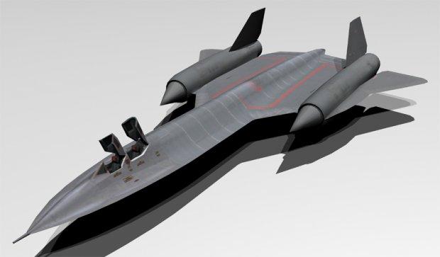 SR-71 Blackbird 3d model