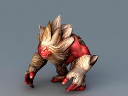 Ape Monster 3d model