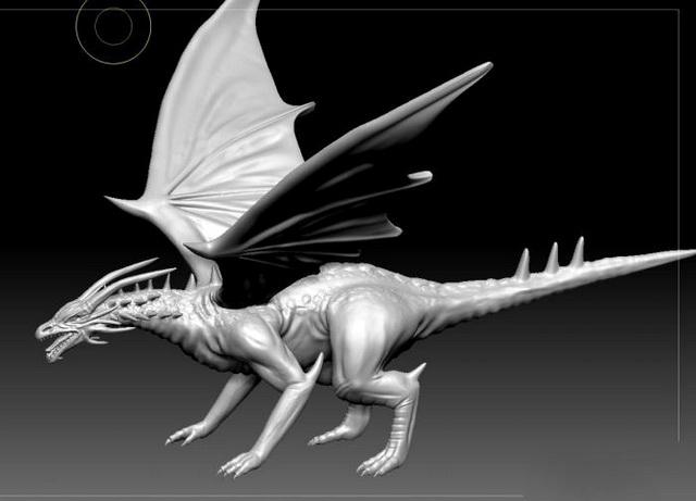 Cool Dragon 3d model