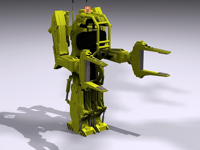 Aliens Power Loader 3d model
