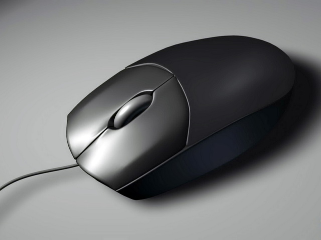 computer mouse 3d model free download