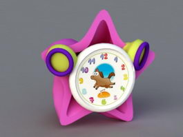 Kids Alarm Clock 3d model
