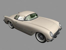 1954 Chrysler New Yorker 3d model