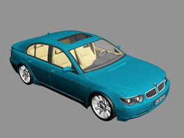 Bmw 7 Sedan 3d model